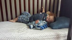 todd sleeping