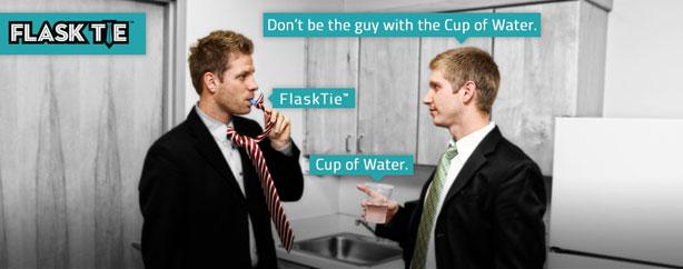 flasktie