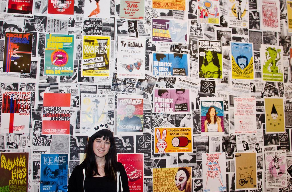 U+N Fest 2012 - organizer + poster wall