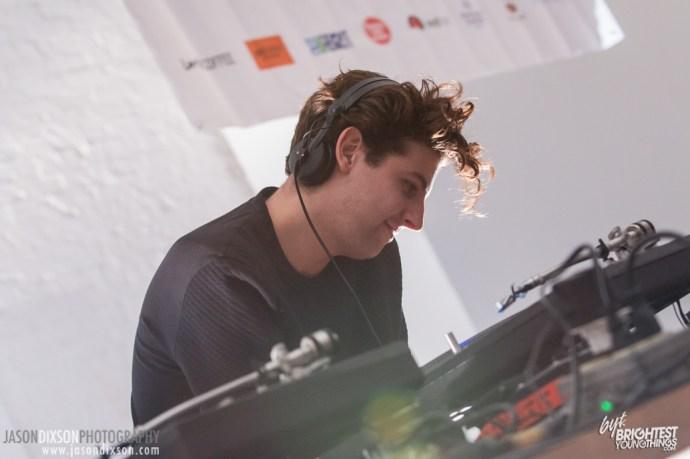Jamie XX at Hopscotch 2014.