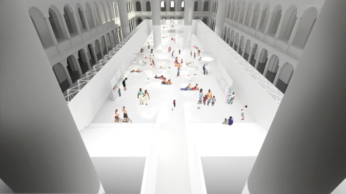 rendering courtesy of Snarkitecture and National Building Museum