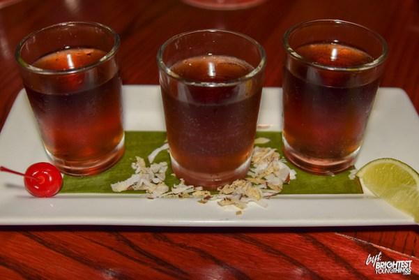rum shots Cuba Libre