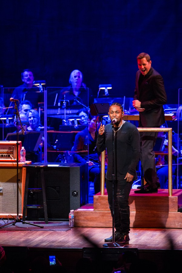 Kendrick Lamar with the National Symphony Orchestra_October 20, 2015_Photo by Yassine El Mansouri (3)