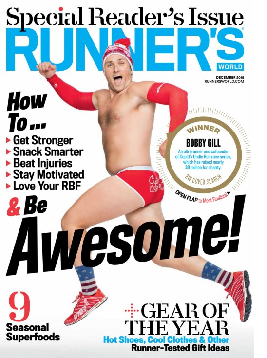photo courtesy of Runner's World magazine. #RWCoverSearch presented by Tag Heuer and Asics.