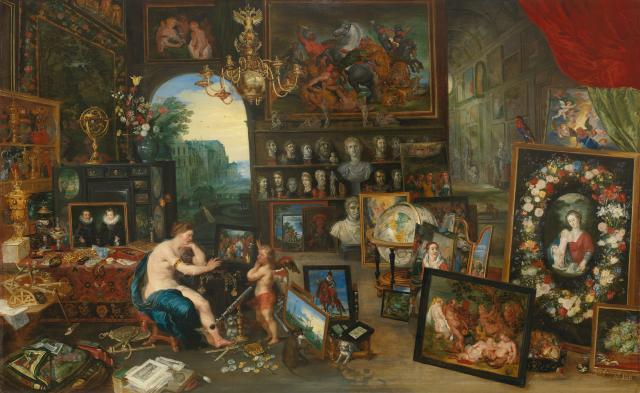 The Five Senses: Sight Jan Brueghel the Younger c. 1625