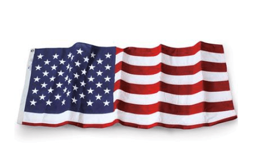 Turn an American flag into a cape, the way our forefathers did.