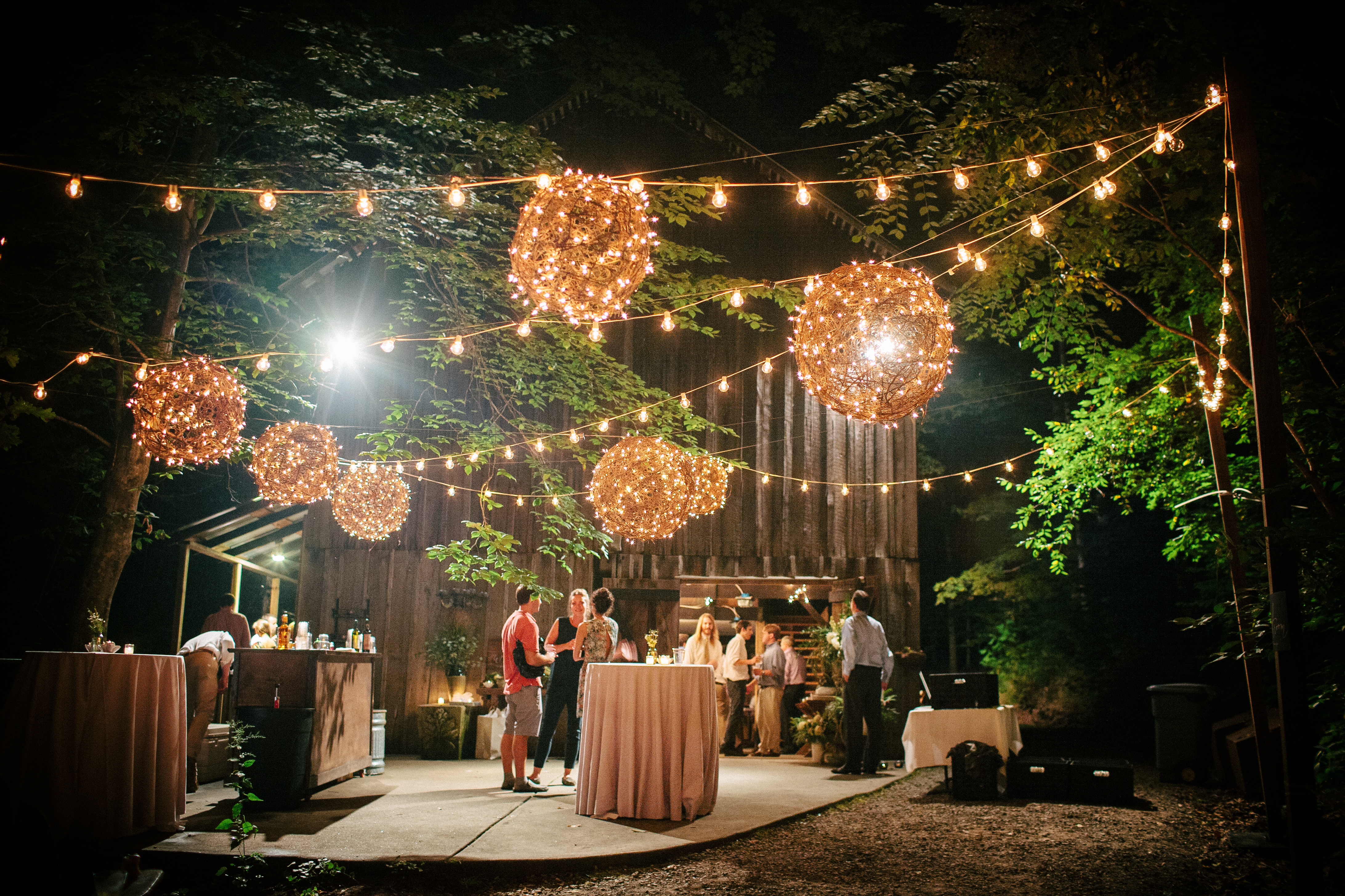 Day-to-Night Event Lighting By Bright Event Productions