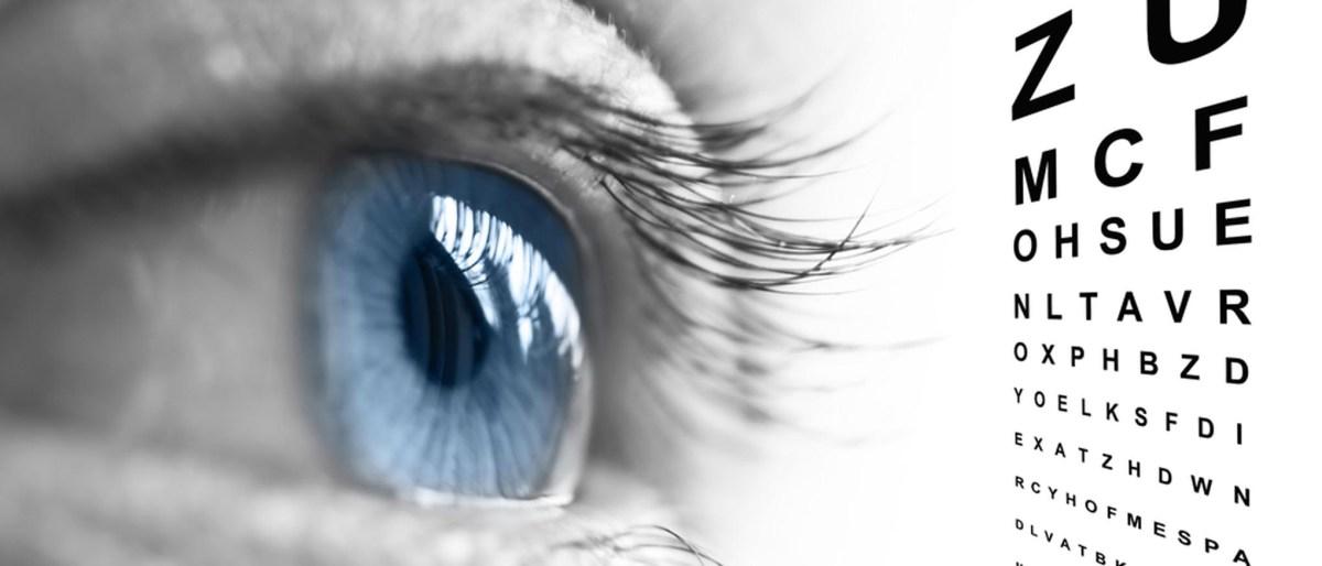 Eye Test Slider