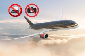 Laptops, tablets and cameras have been banned from U.S bound flights