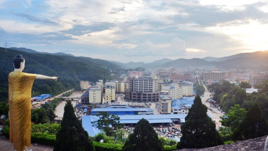 A view over Mong La. See inside the real life sin city