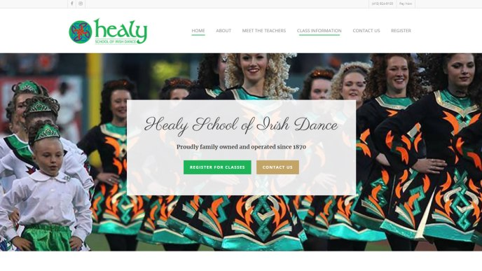 healy school of irish dance