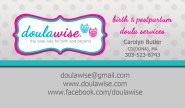 doula cards front