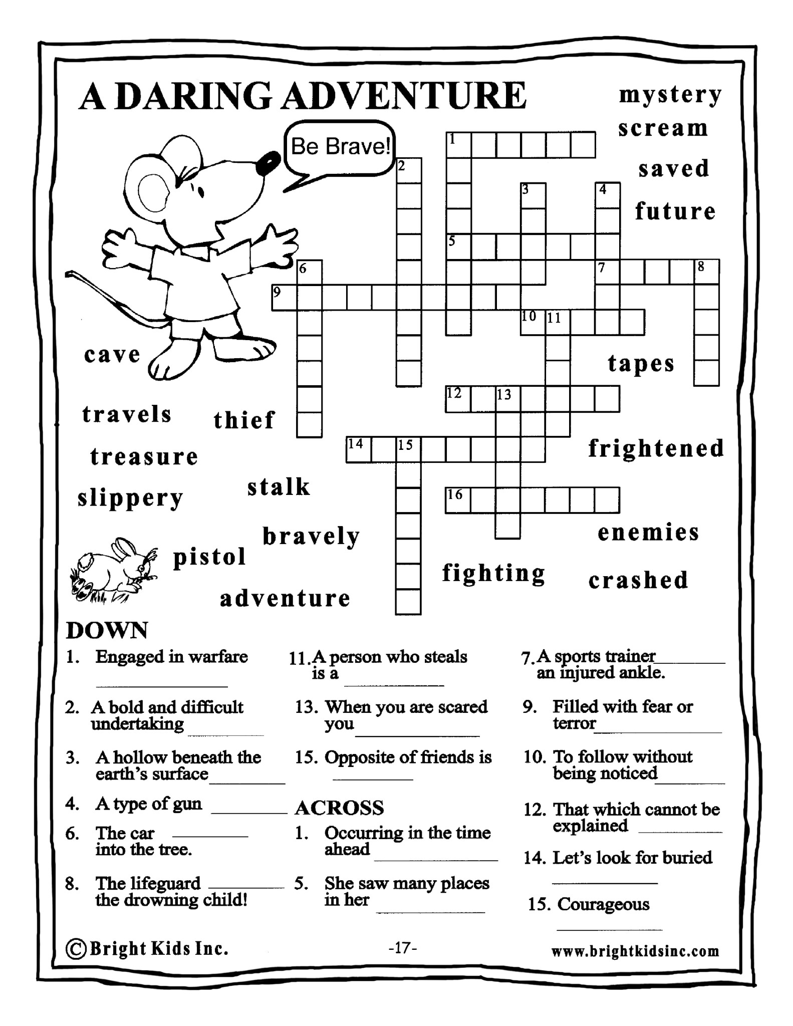 English Worksheets For Grade 5
