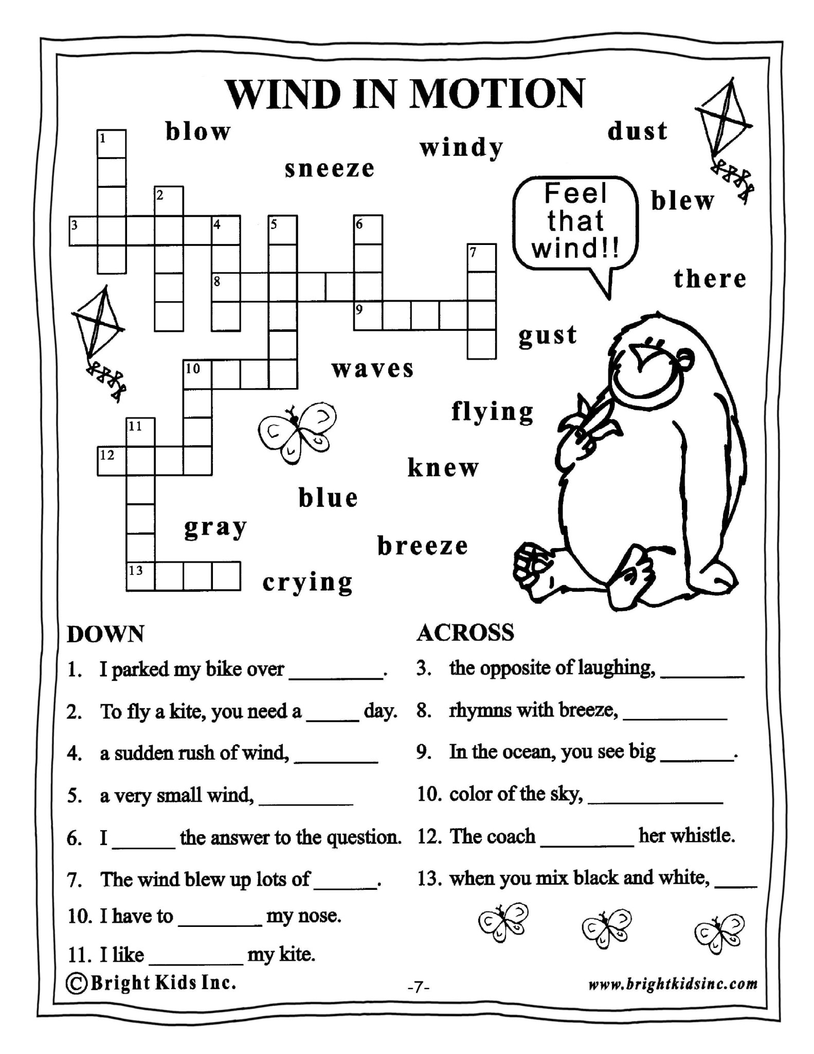 Free Worksheets For Grade 3 English