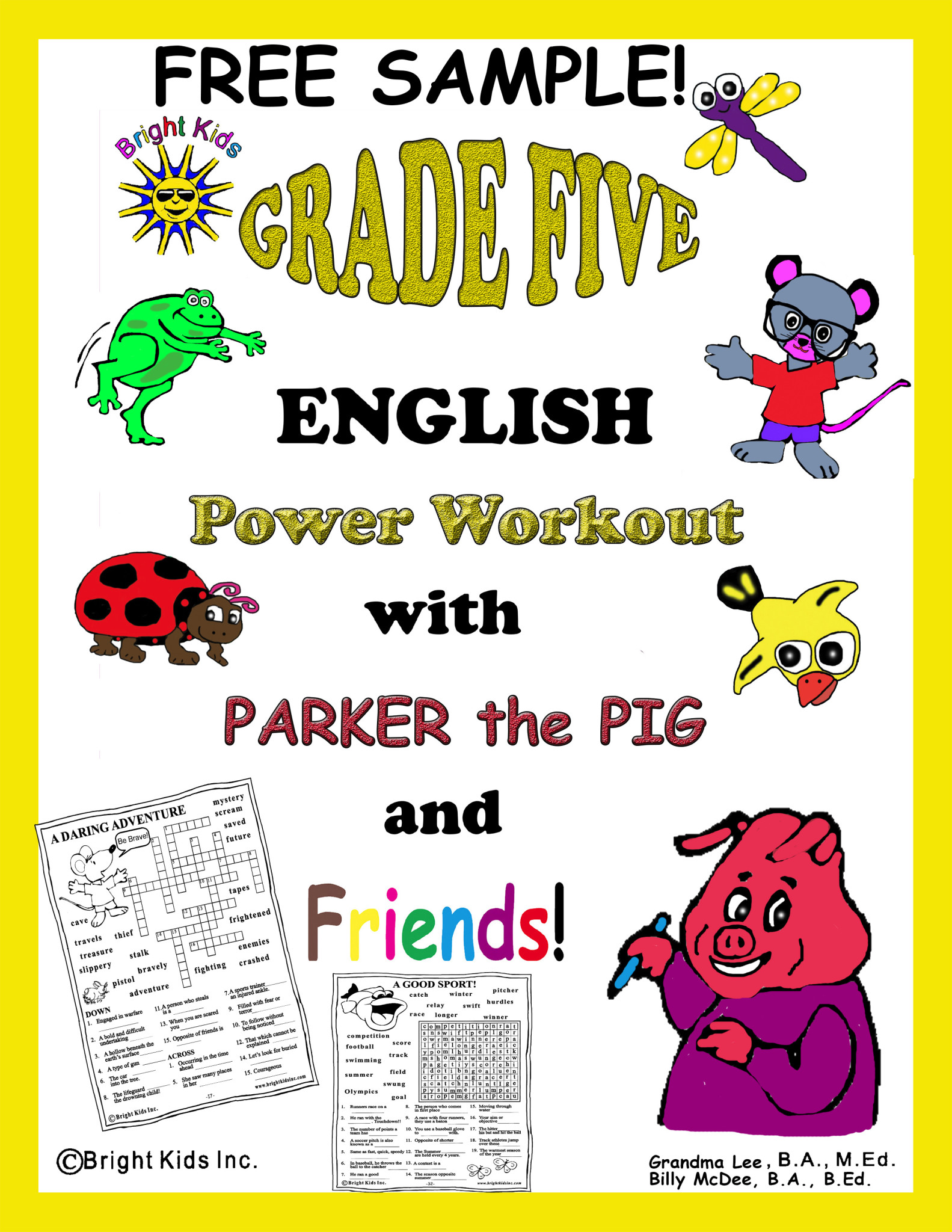 Grade 5 English Word Power Workout