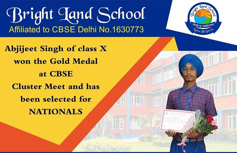 Abhijeet Selected for Nationals in Athletics