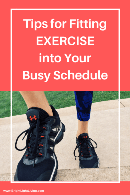 Tips For Fitting Exercise Into Your Busy Schedule (1)