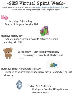 St. Elizabeth School Spirit Week