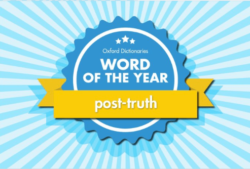 PR Buzz Word #2: Post-truth…