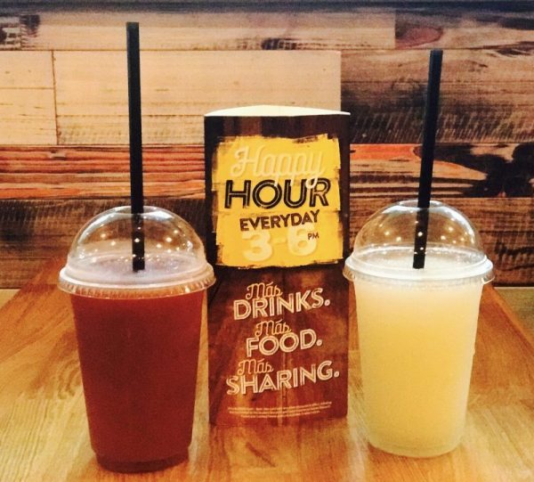 Happy hour freeze drinks