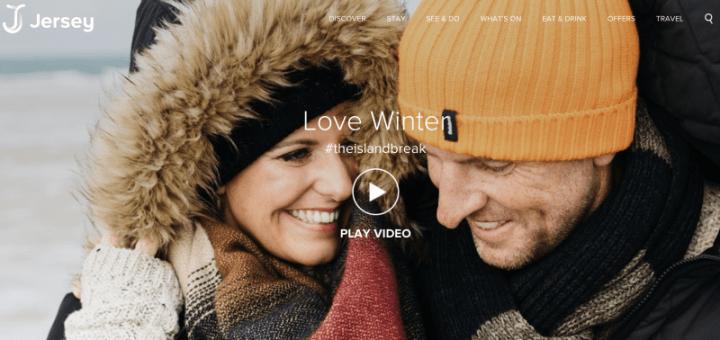 Creative Campaigns #27 – Visit Jersey's Love Winter campaign