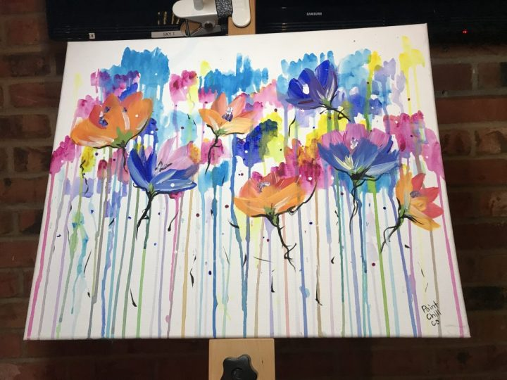 A creative evening with Paint Chill Co.