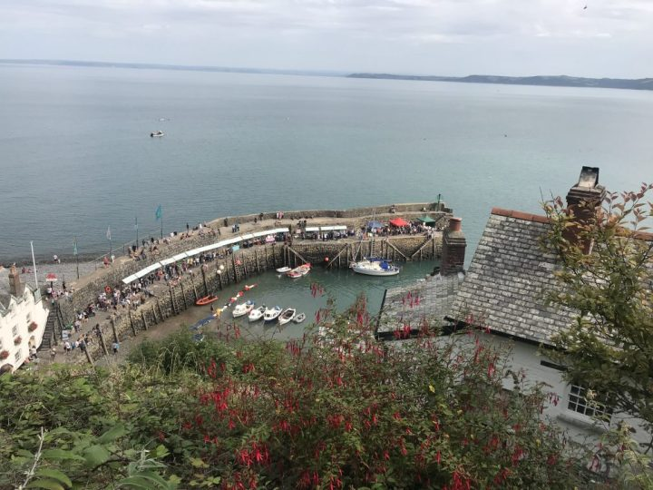 The Crab and Lobster Festival in Clovelly, North Devon