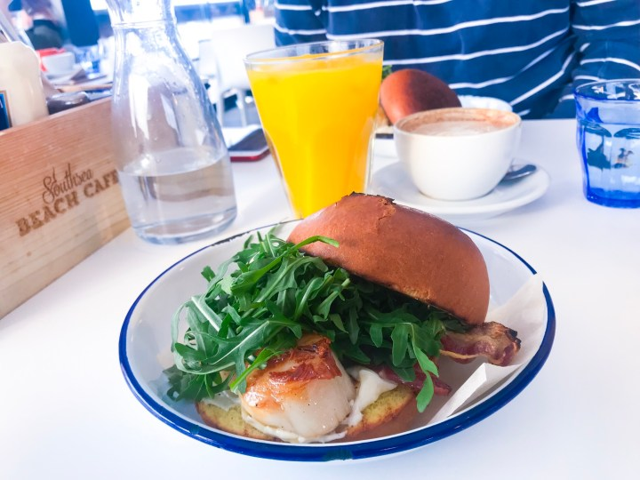 Where To Get Breakfast In Hampshire: Southsea Beach Cafe