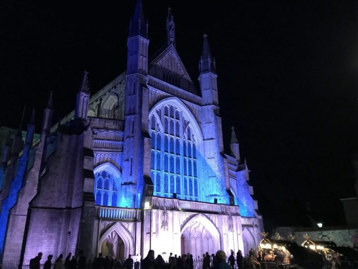 An evening at Winchester Christmas Market 2019