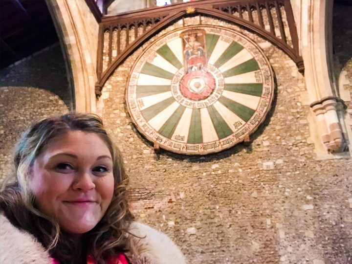 King Arthur's Round Table in Winchester, Hampshire