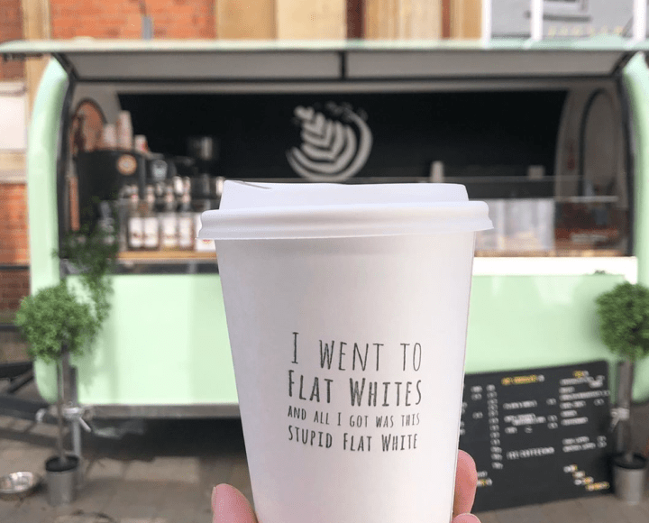 Flat Whites Coffee in Winchester, Hampshire