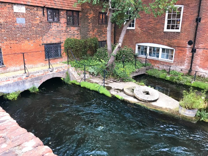 Winchester City Mill in Hampshire, England