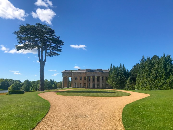 The Grange at Northington in Alresford, Winchester, Hampshire.