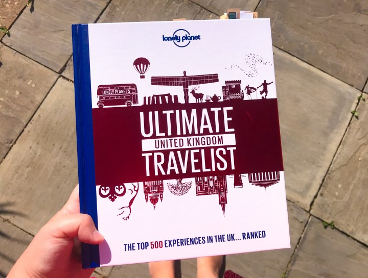 Lonely Planet's Ultimate Unite Kingdom Travelist