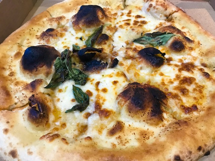 Paradise Pizza in Polzeath, Cornwall, England, UK