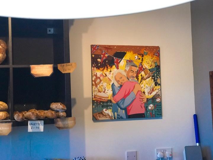 Art in the Da Bara Bakery in Truro