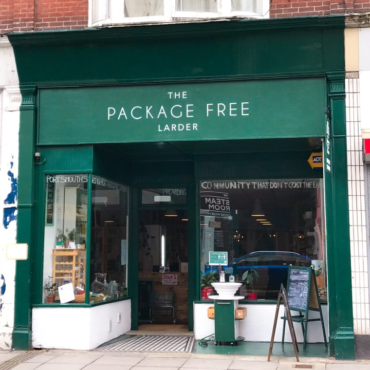The Package Free Larder in Portsmouth, Hampshire