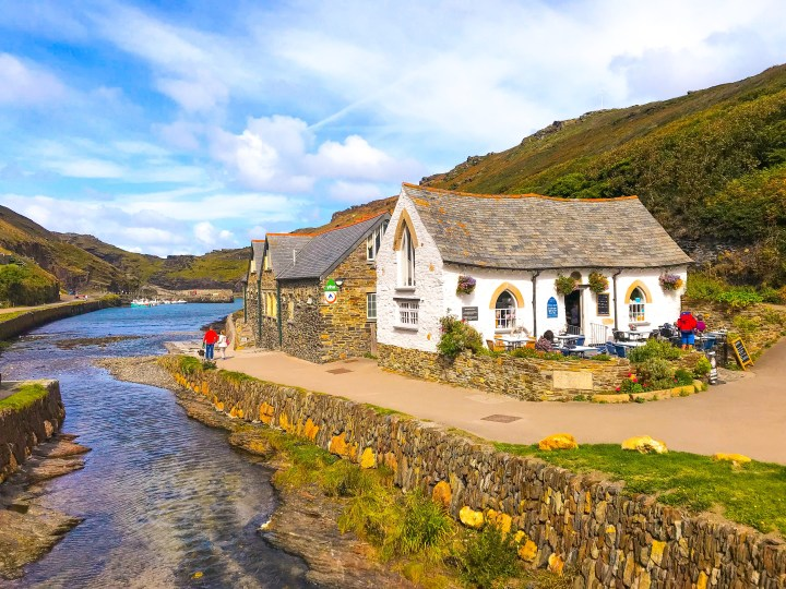 Boscastle and the Museum of Witchcraft and Magic in Cornwall, England