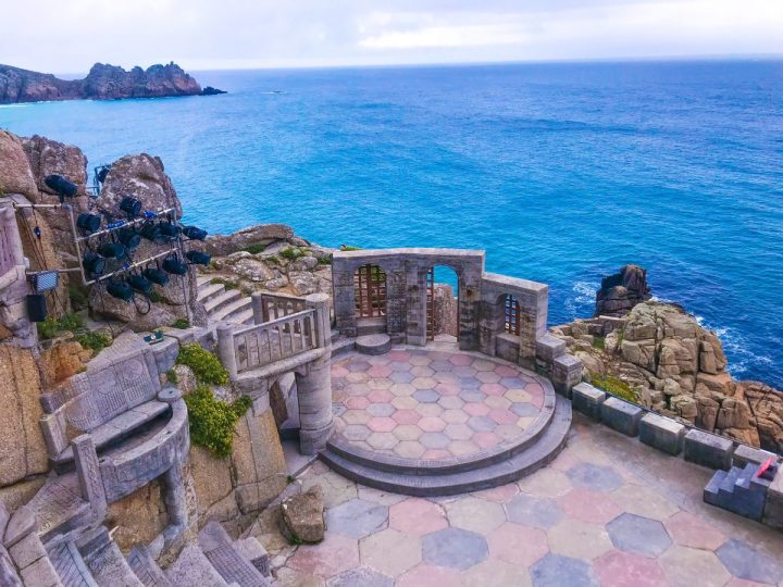 The Minack Theatre in Porthcurno