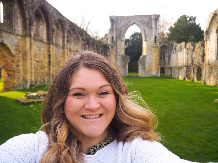 Bex at Netley Abbey in Southampton, Hampshire