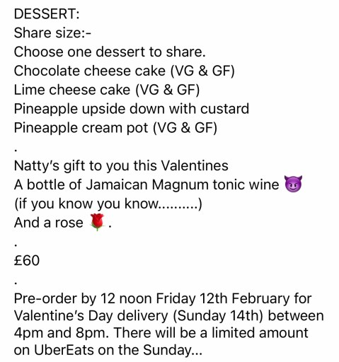 Natty's Jerk on Things To Do In Hampshire This Weekend | Valentine's Day Edition | 5 FEBRUARY 2021