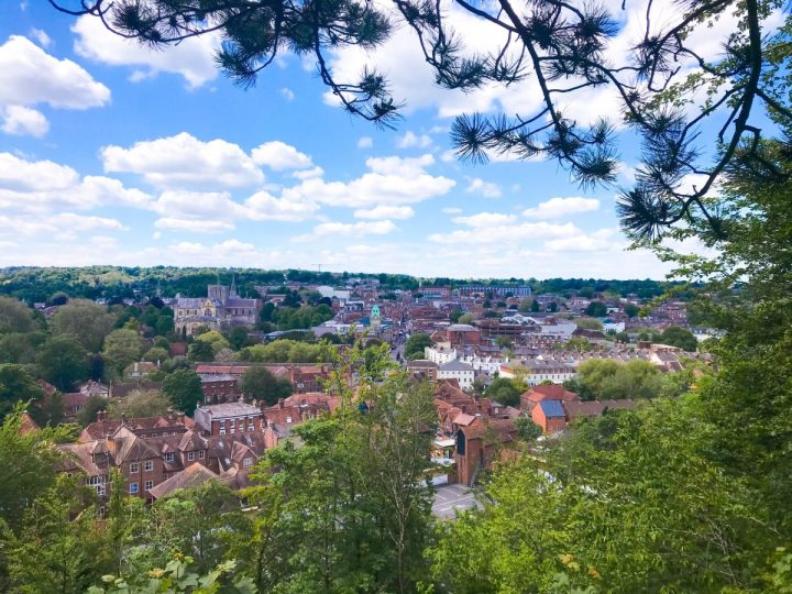 St. Giles Hill View Point in Winchester