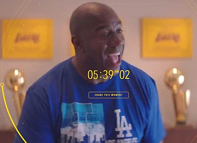 Magic Johnson in 24 Hours of Happy