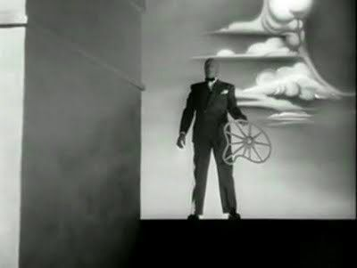 The Proprietor in the Salvador Dali-designed dream sequence in Hitchcock's Spellbound