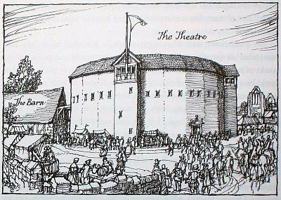 The Theatre, late 1500s