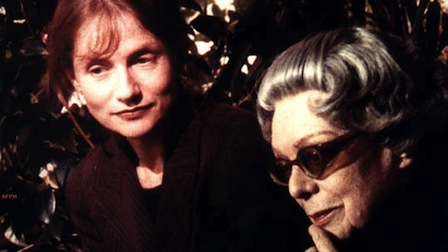 Isabelle Huppert and Martha Mödl