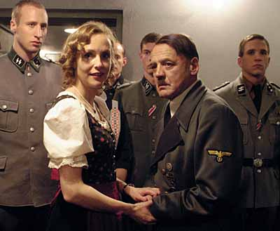 A scene from Downfall