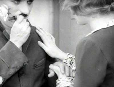 Chaplin and Virginia Cherrill