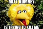 'Mitt Romney is trying to kill me!'