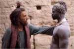 Heath Ledger and Djimon Hounsou in The Four Feathers